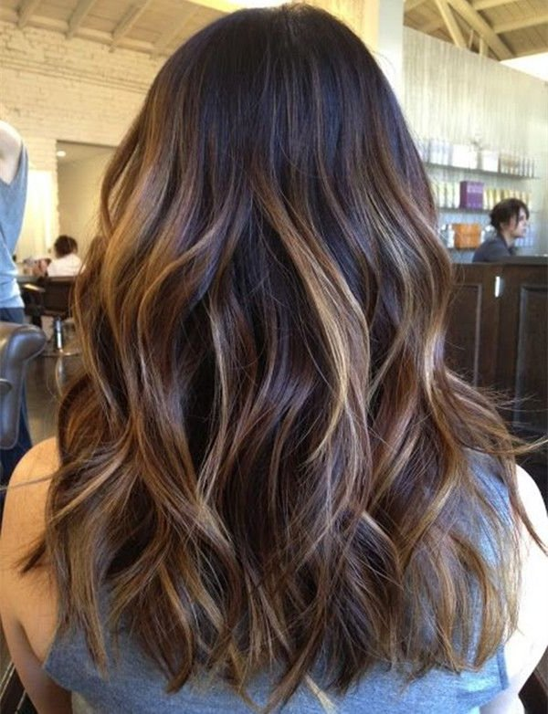 mechas balayage 2019 en morenas moda top online. Black Bedroom Furniture Sets. Home Design Ideas