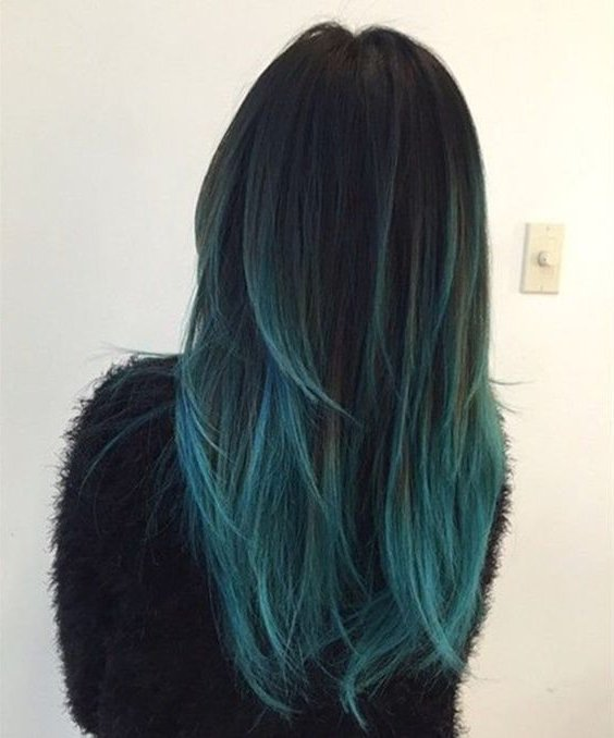 mechas de color 2018 30 fotos e ideas de moda � moda top