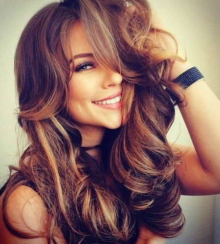 2017 mechas for brunettes | Hair or brown hair - Fashion Top Online