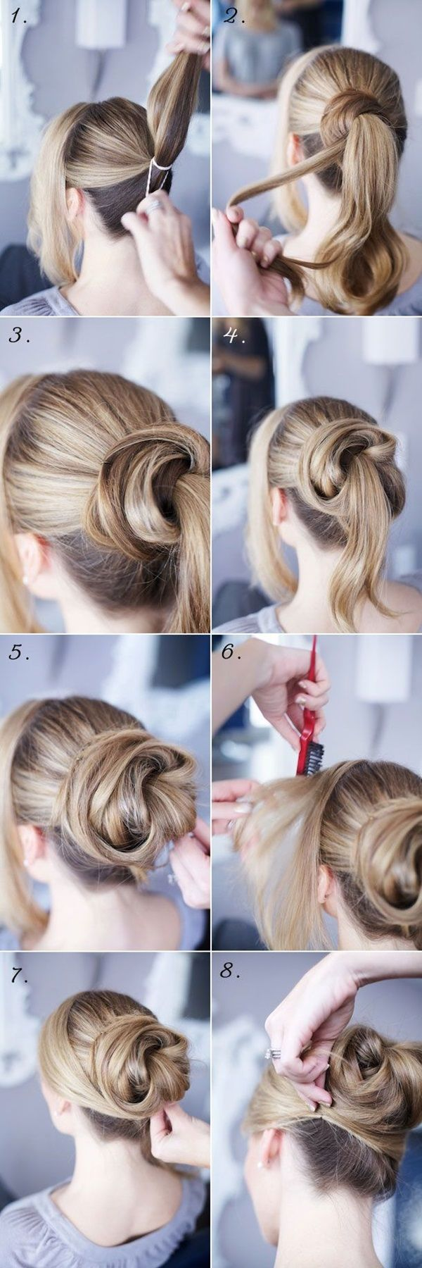 25 Peinados Faciles 2019 Paso A Paso Moda Top Online