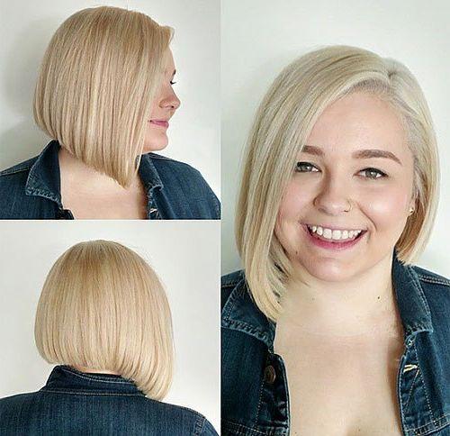 Imagenes de cabello corto para cara redonda