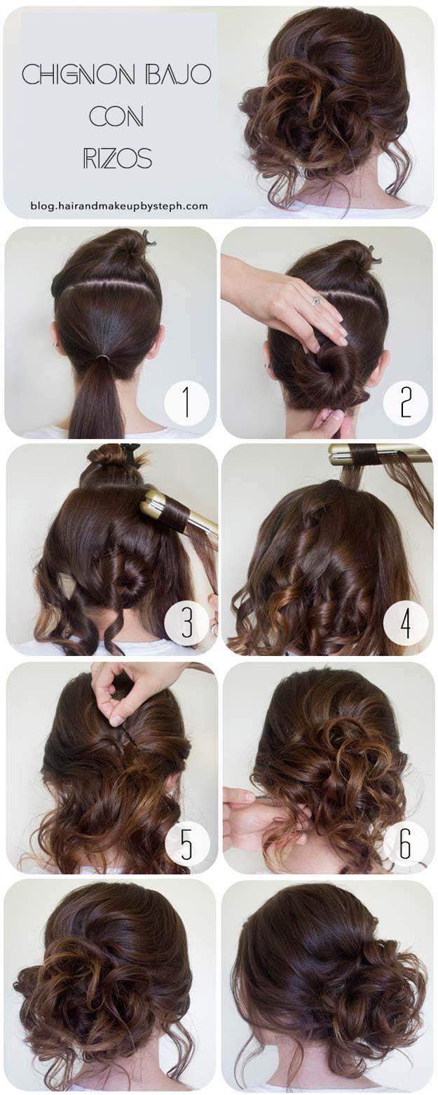 Peinados recogidos espectaculares