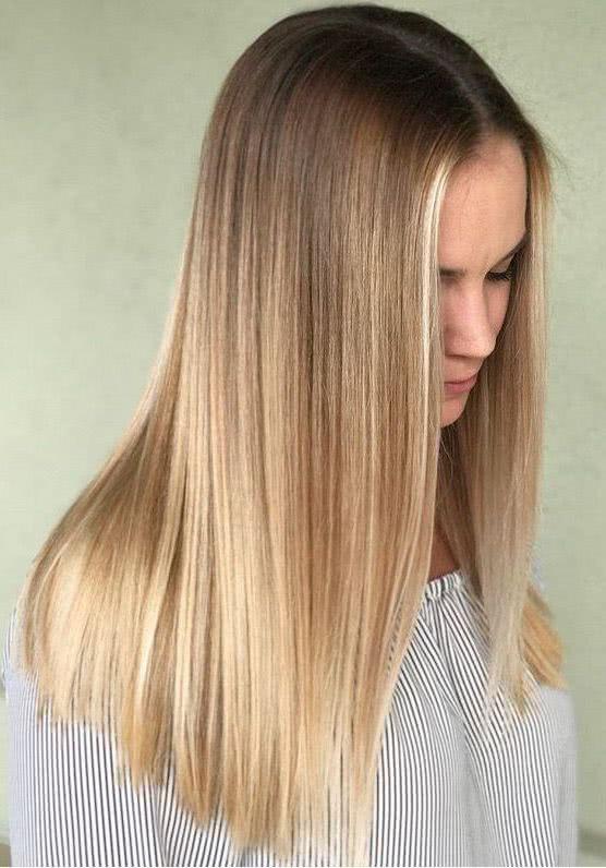 Cortes de pelo de mujer recto