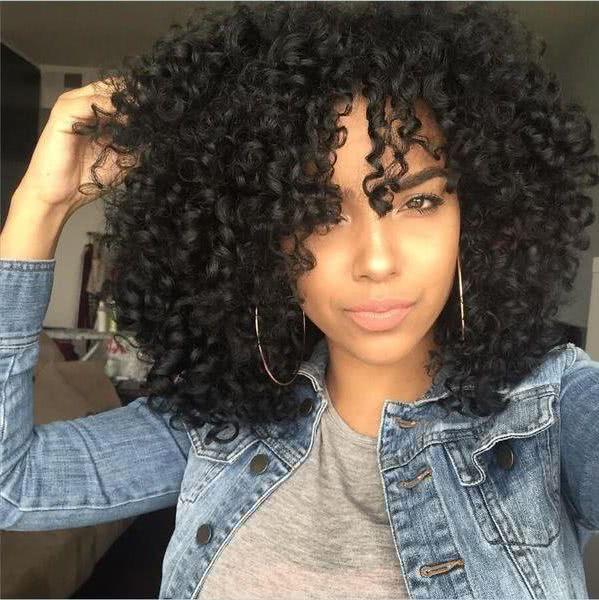 Fotos de cortes de cabello afro
