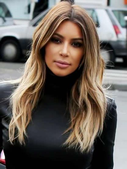 Cortes de cabello largo 2018 de 100 fotos y tendencias Moda Top
