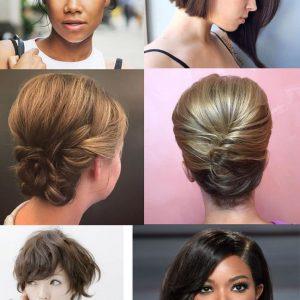 Peinados para cabello corto 2018
