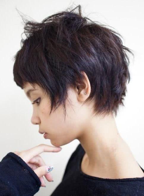 Cortes de pelo corto despeinados mujer