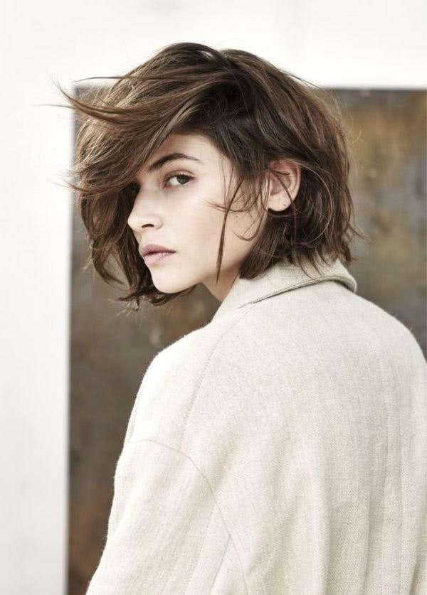 Fabuloso peinados de pelo corto 2021 Imagen de ideas de color de pelo - Peinados para cabello corto 2021 - Moda Top Online