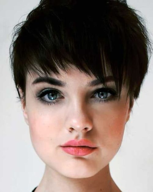 Cortes de pelo corto para rostro redondo