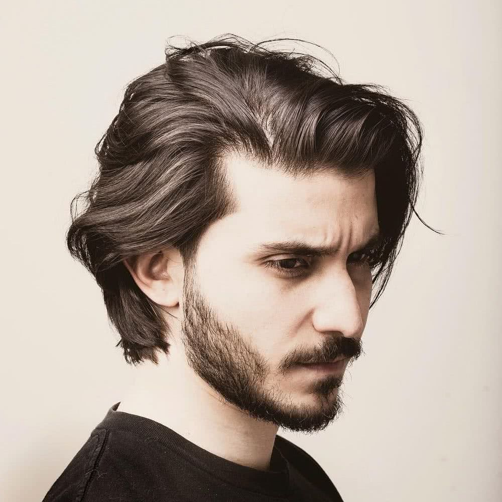 Cortes de pelo 2020 hombre pelo largo