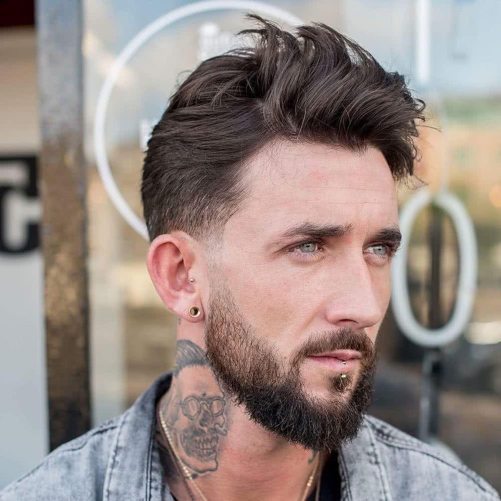 Super dulce peinados de chicos 2021 Colección De Cortes De Pelo Consejos - Cortes de pelo para hombres 2021 tendencias y 200 fotos