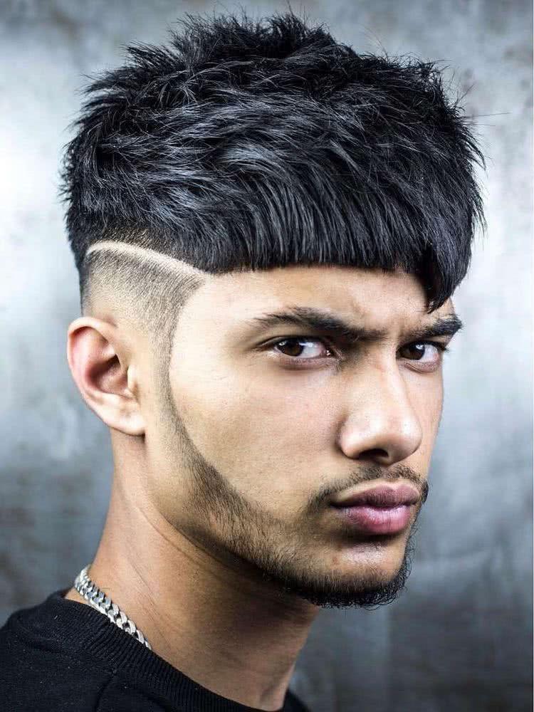 Diferentes versiones peinados hombre 2021 Imagen de ideas de color de pelo - Cortes de pelo para hombres 2021 tendencias y 200 fotos