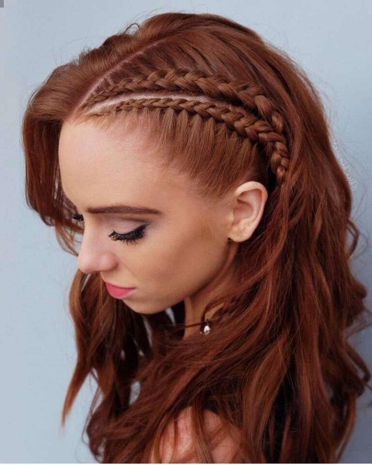 Más agudo moda peinados 2021 Imagen De Tendencias De Color De Pelo - Peinados con trenzas 2021 - Moda Top Online